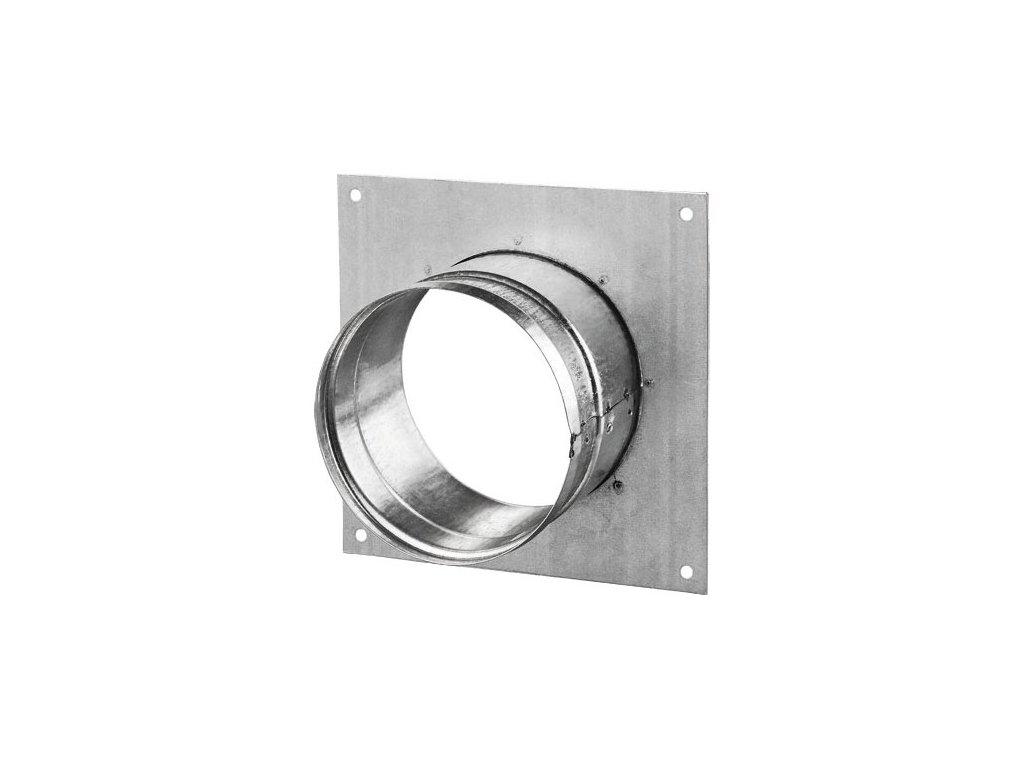 Příruba s rámečkem FMK 160 mm kovová Zn