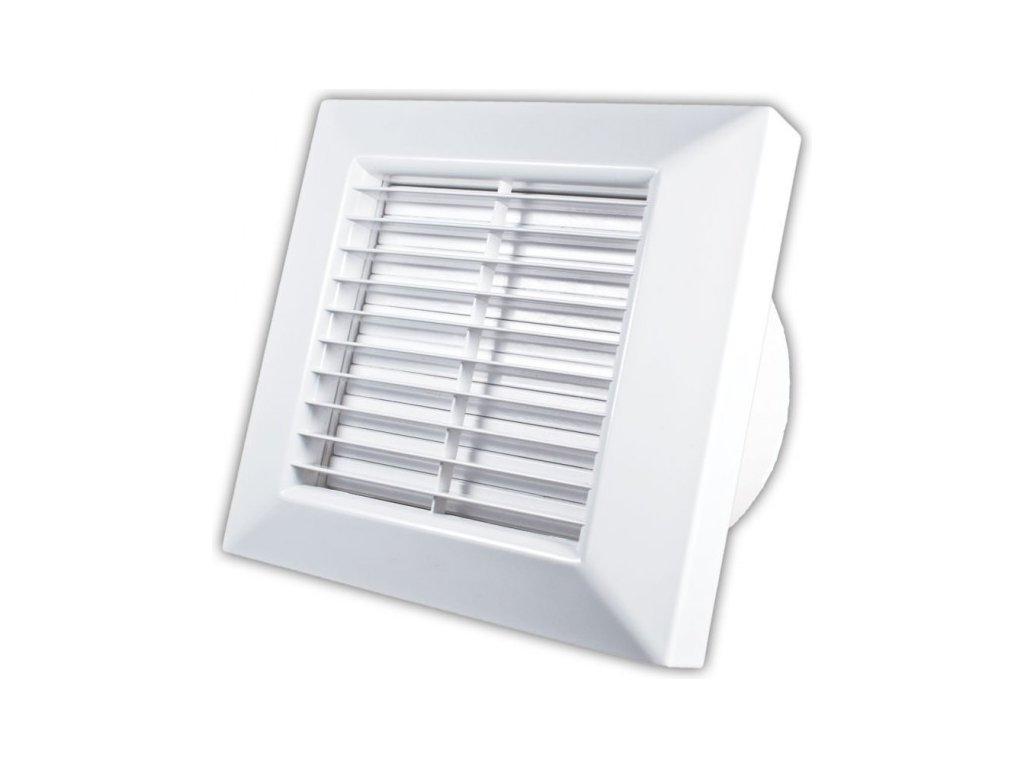Ventilátor koupelnový se žaluzií, regulací a čidlem vlhkosti PRIMO AH 100 IPX2