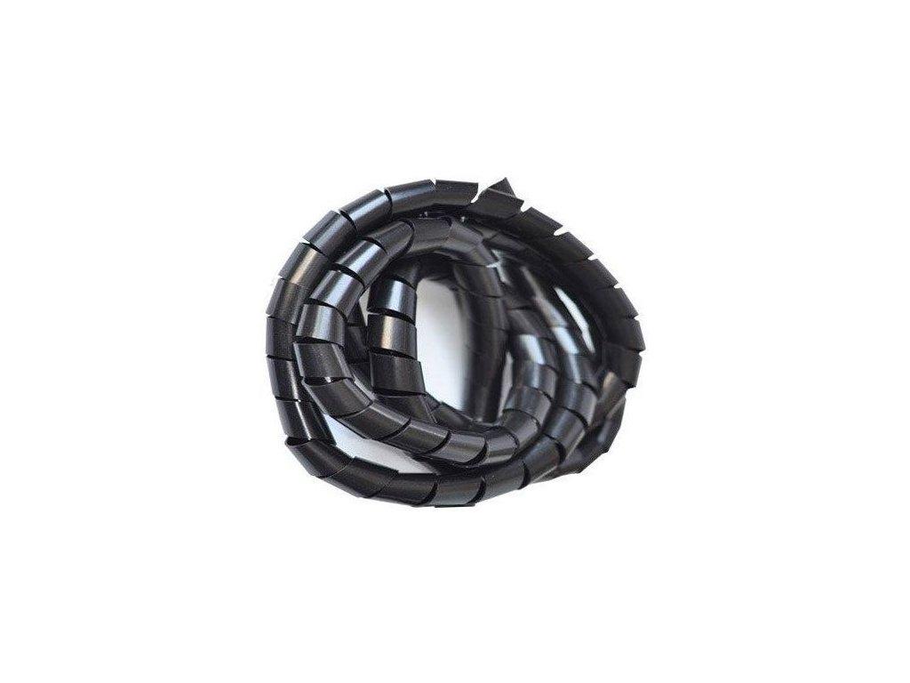Svazkovací spirála černá 15-60mm,8mm,10m