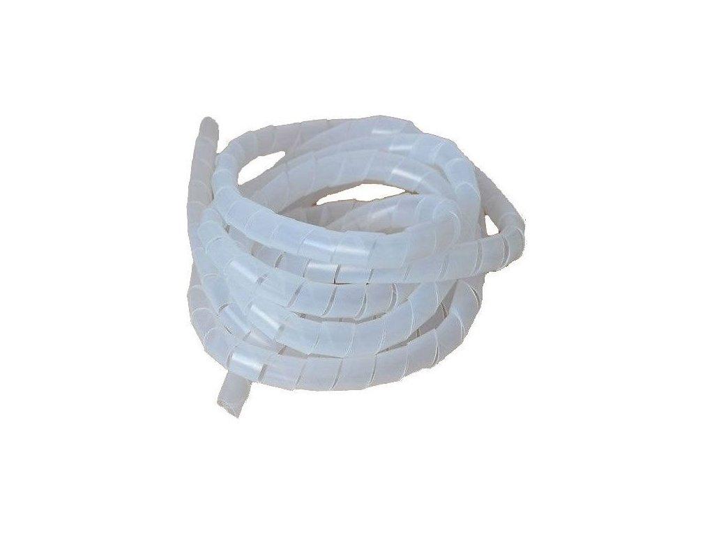 Svazkovací spirála bílá 25-75mm,15mm,10m