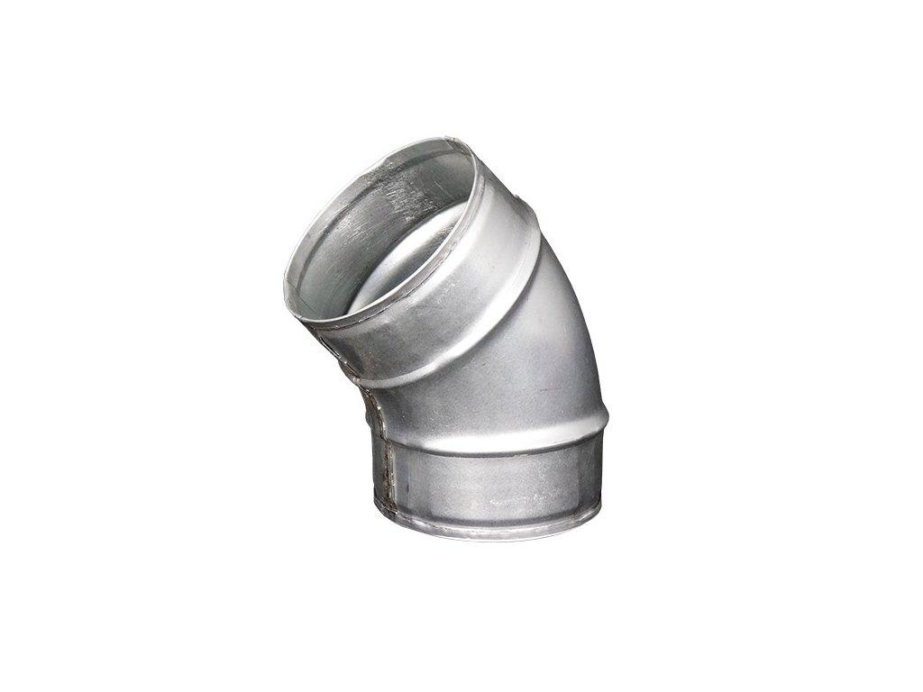 Kovové koleno 125 mm / 45st.