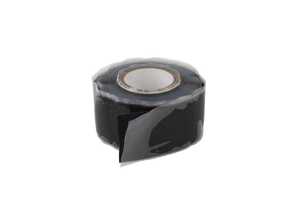 Silikonová izolační páska vulkanizační 25mm/3m černá