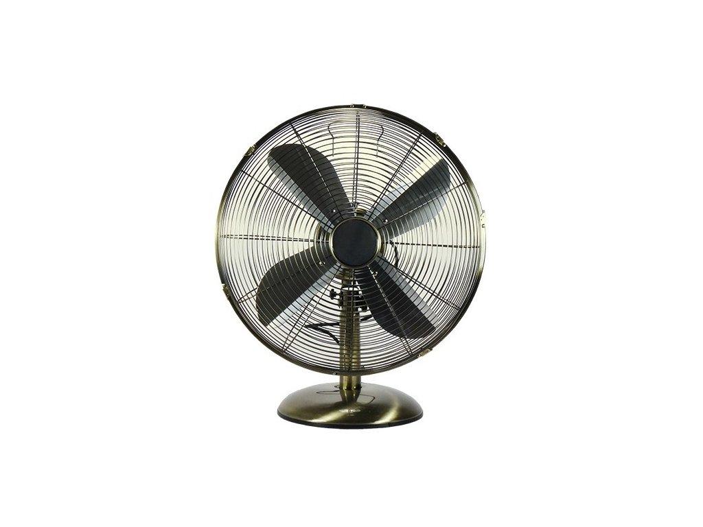 Stolní ventilátor Dalap T-FAN 40B - 40cm, bronzový