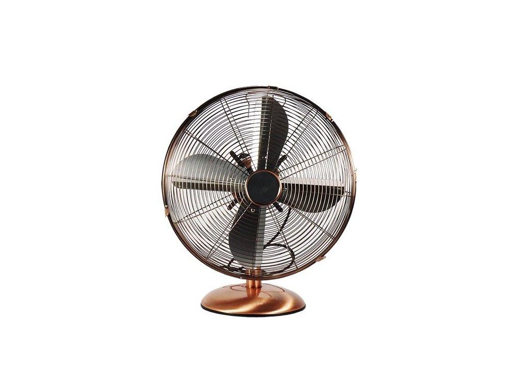 Stolní ventilátor T-FAN 40MC - 40cm, měď
