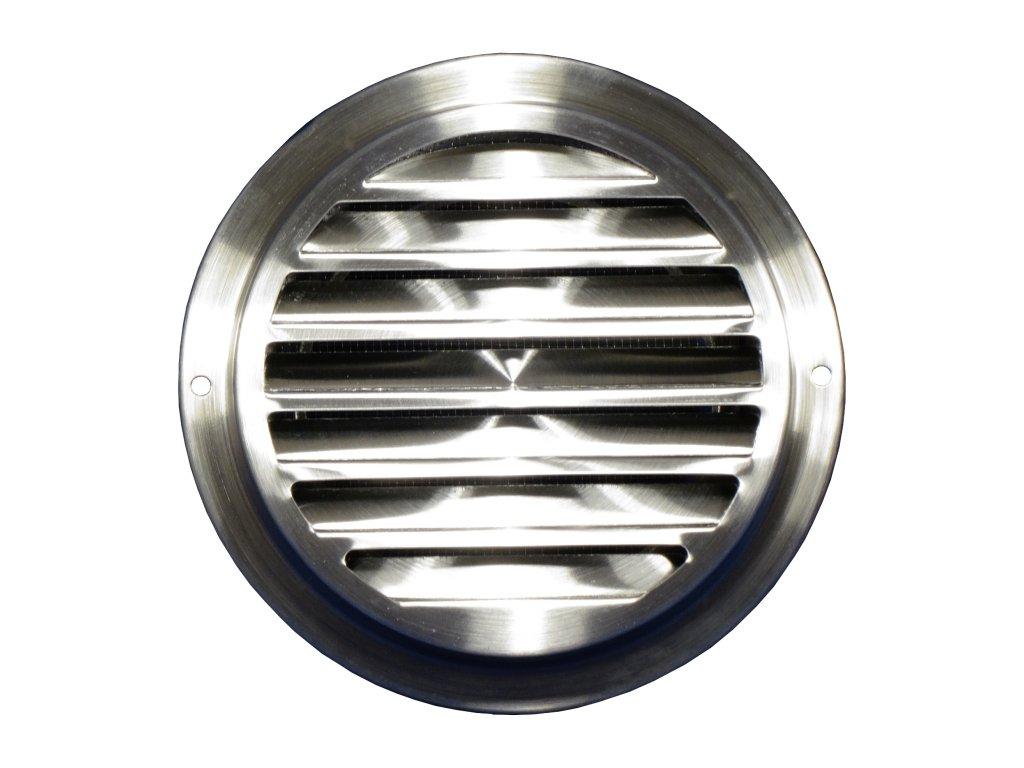 Ventilační mřížka nerez kruhová 125 mm MVM125bVA