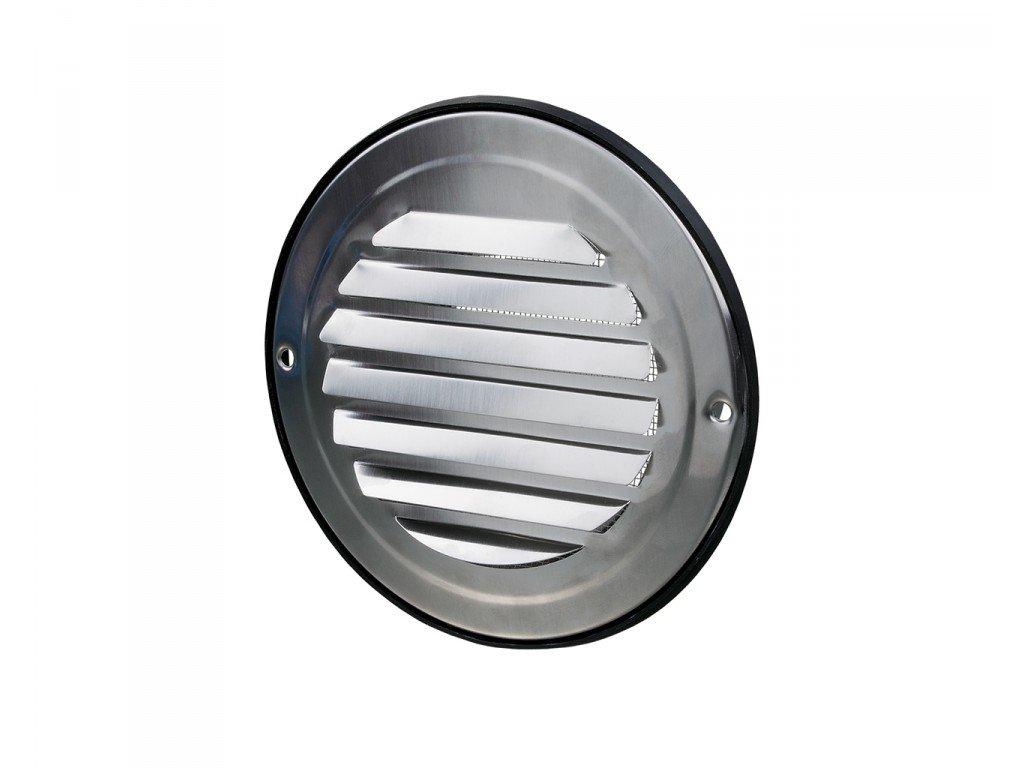Ventilační mřížka nerez kruhová 150 mm MVM150bVA