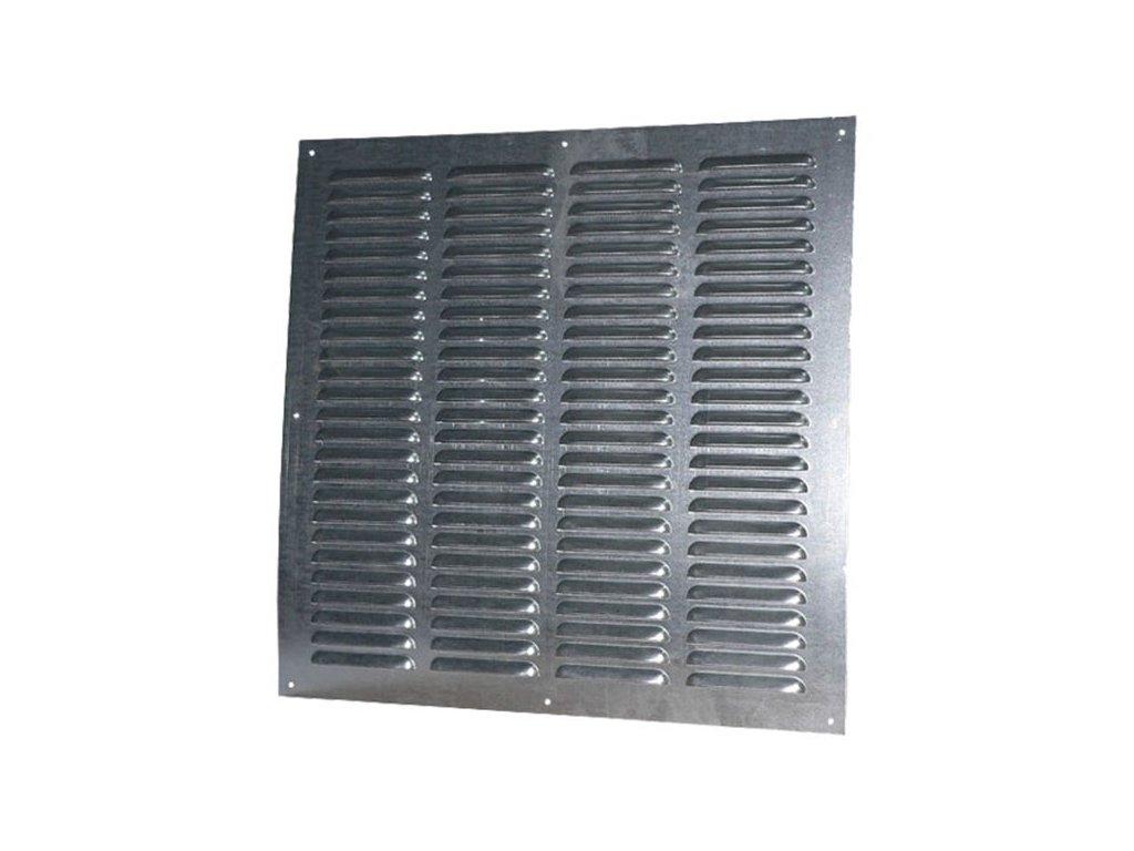 Ventilační mřížka pozink 500x500 mm MVMP500s Zn