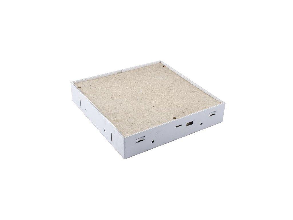Protipožární revizní dvířka pod obklad 400x400 EI45 klička, Stěna