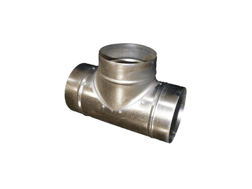 Odbočka jednostranná 100/100 mm Zn kovová