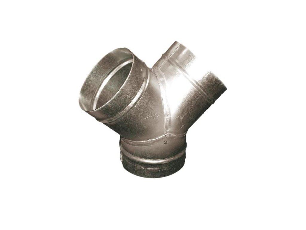 Odbočka TMY 125/125 mm kovová Zn