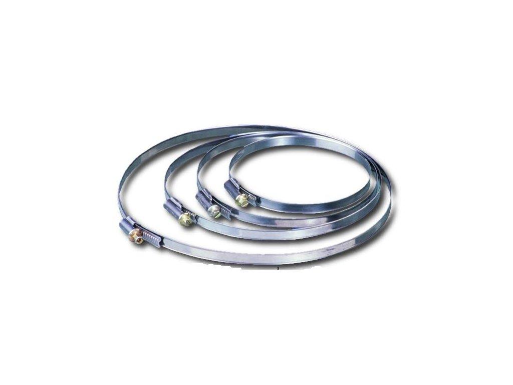 Hadicová spona C 125 mm /110-120-130 mm/Zn