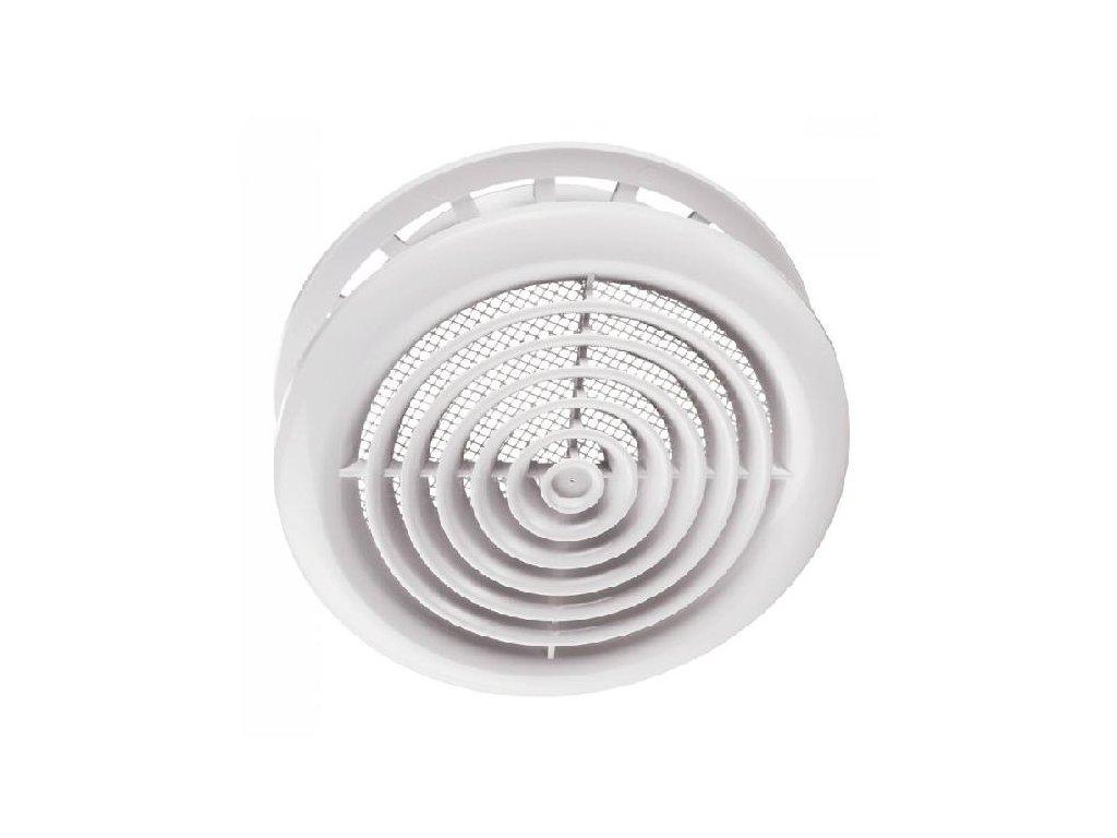 Ventilační mřížka stropní difuzor 100 mm MV100PFs