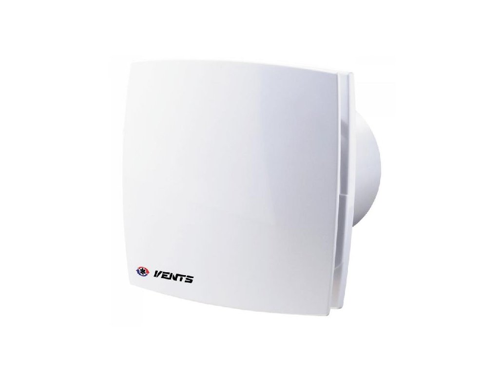 Ventilátor do koupelny Vents 125 LDTHL ložiska, doběh, hydrostat