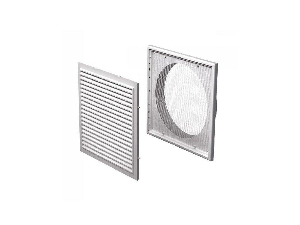 Ventilační mřížka plastová 250x250-200 mm MV250/200Vs