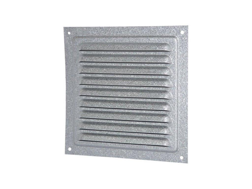 Ventilační mřížka pozink 200x200 mm MVM200sZn