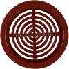 Ventilační mřížka kruhová 50 mm VM 50 H hnědá /4 kusy/