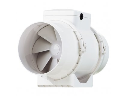 ventilator do potrubi axialni plastovy s casovym spinacem o 100 mm 382 1