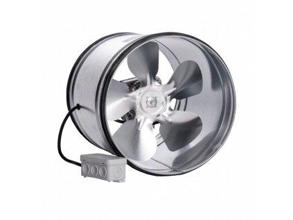 kovovy potrubni ventilator s tesnici gumou vpi 150 mm