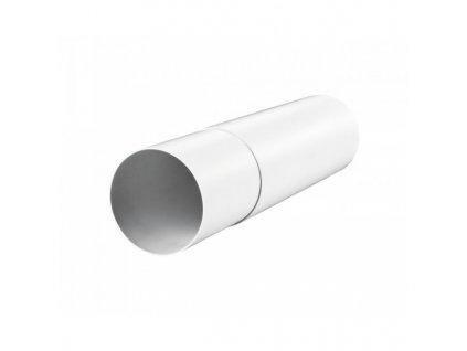 Vzduchotechnické potrubí teleskopické 125 mm/0,5 m PVC 2805
