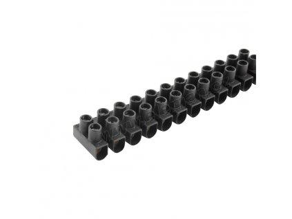 Přístrojová svorkovnice  4.0 mm černá