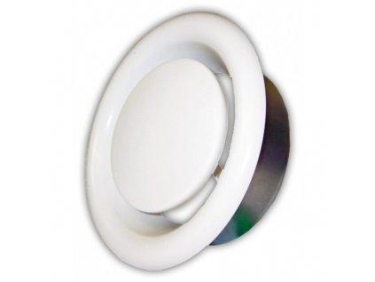 Anemostat 125 mm odvodní kovový