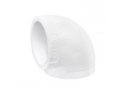 Izolace ventilačního kolena 150 mm/90st.
