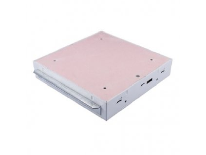 Protipožární revizní dvířka GKF EI45 500 x 500 klička, Stěna