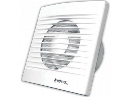 Ventilátor Dospel Styl 100 WC-P s časovým spínačem a zpětnou klapkou