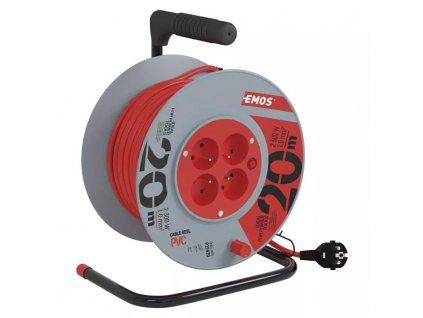 Prodlužovák buben 20m 4 zásuvky EMOS P19420, 230V