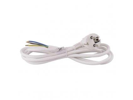 Flexo šňůra PVC 3x1,0 mm, 2m bílá