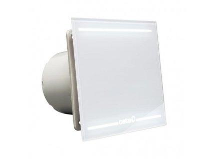 Ventilátor koupelnový Cata e100 GL s LED osvětlením
