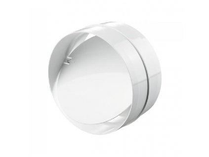 Zpětná klapka pro kruhové potrubí 150 mm PVC