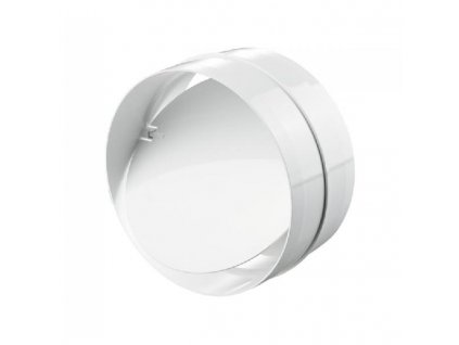 Zpětná klapka pro kruhové potrubí 125 mm PVC