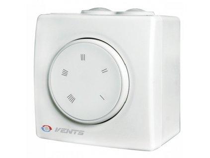Regulátor otáček Vents RS-2.5-PS na omítku do 520W