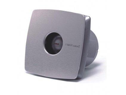 Ventilátor do koupelny Cata X-MART 10 H INOX s čidlem vlhkosti a časovým doběhem