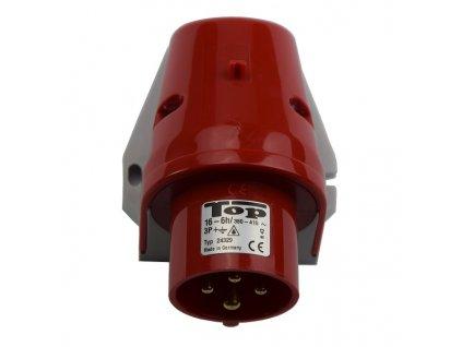 Vidlice přívodka nástěnná 4x 16A/380V IP44 Bals 24329