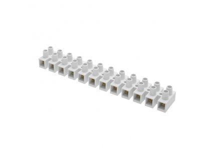 Přístrojová svorkovnice  4.0 mm bílá