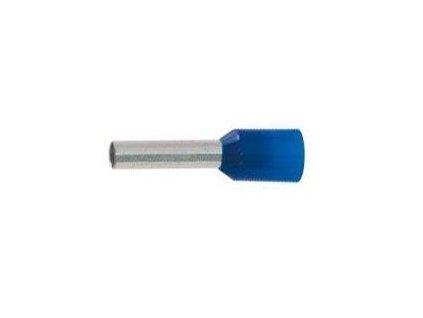 Dutinka izolovaná lisovací pro kabel 2,5 mm2 modrá
