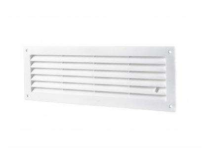 Ventilační mřížka do dveří 462x124 MV450R regulovatelná bílá