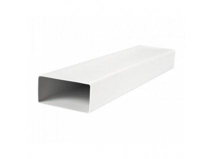 Ventilační potrubí ploché PVC 110x55/1,0 m