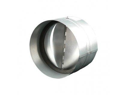 Zpětná klapka 125 mm kovová KOM 125Zn