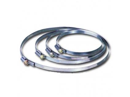 Stahovací páska, hadicová spona C 200 mm /190-210/