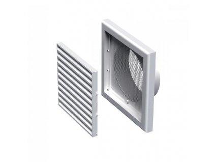Ventilační mřížka plastová 154x154-100 mm MV100Vs