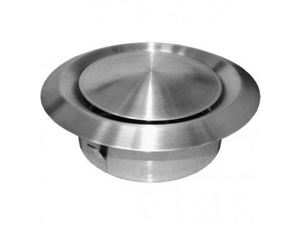 Anemostat 100 mm ANMN-P 100 Nerez-matt nerezový