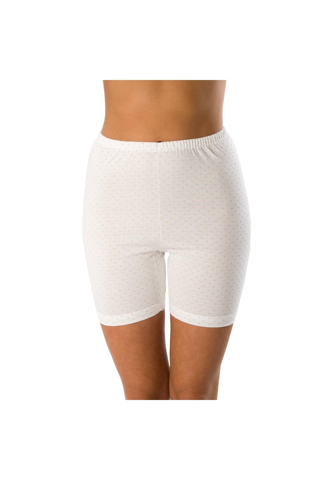 Nohavičkové kalhotky s potiskem, 10018 1, bílá