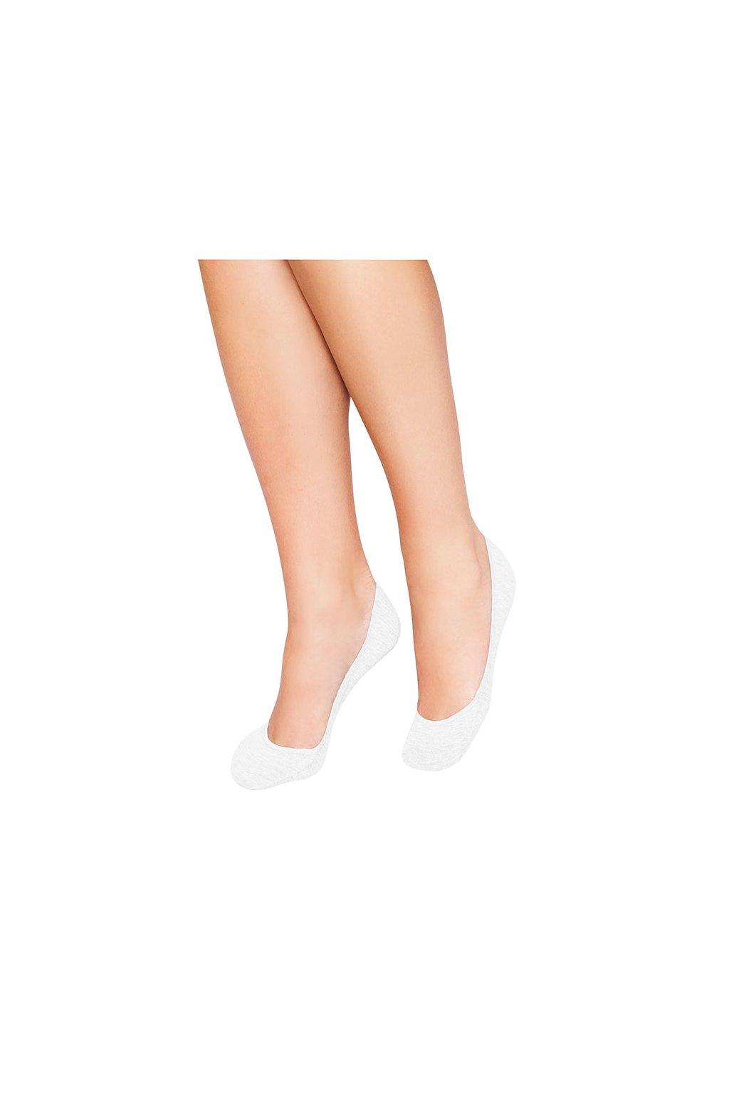 Ponožky do balerín, 1A001 1, bílá
