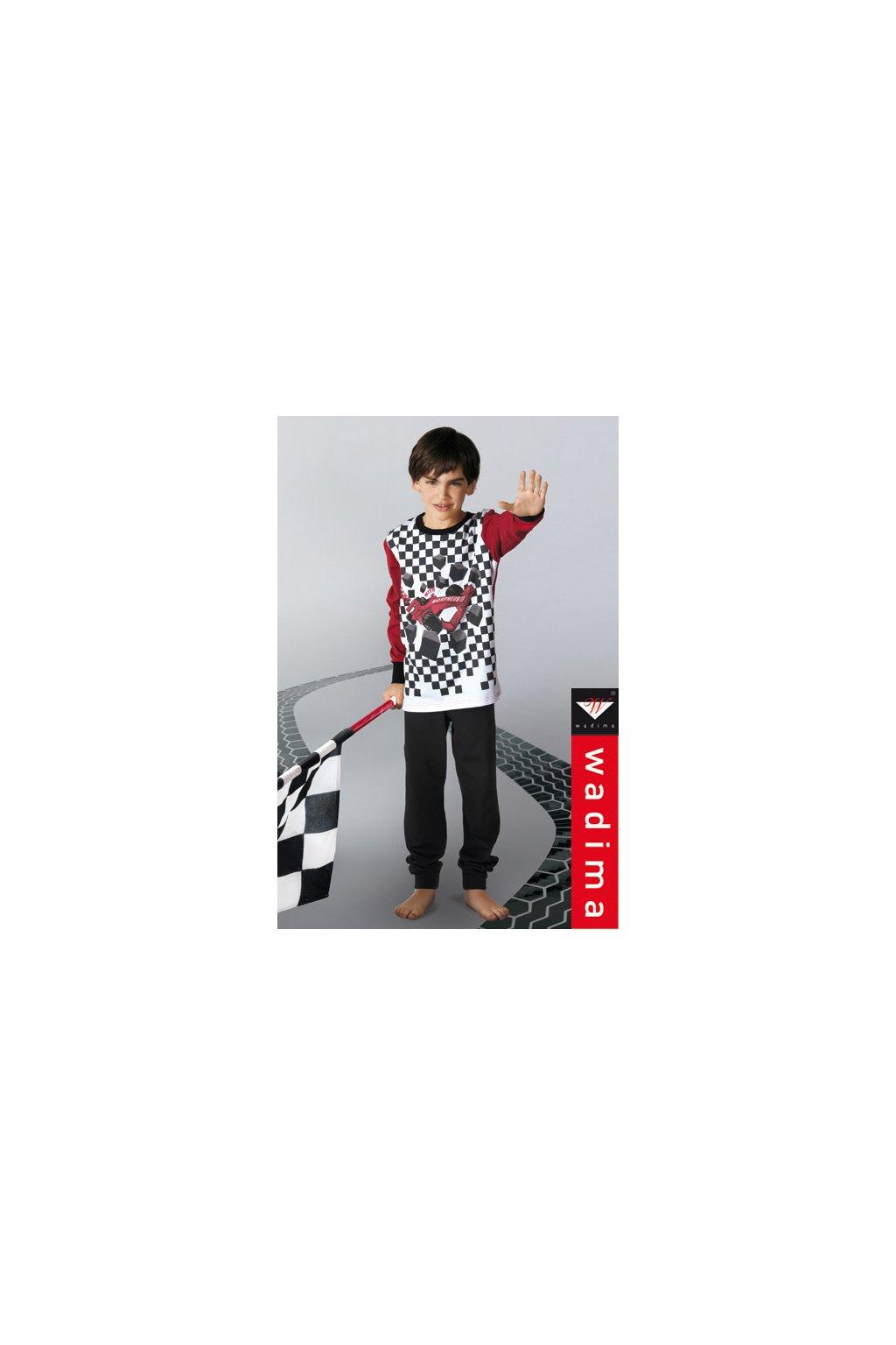 Chlapecké pyžamo, 50478 836, červená/černá