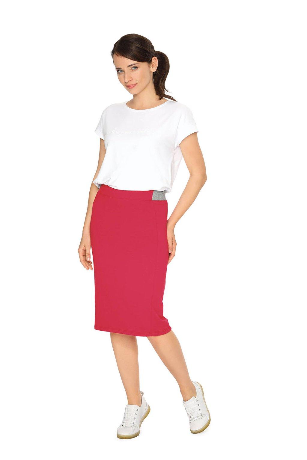 Dámská sukně, 105118 221, červená