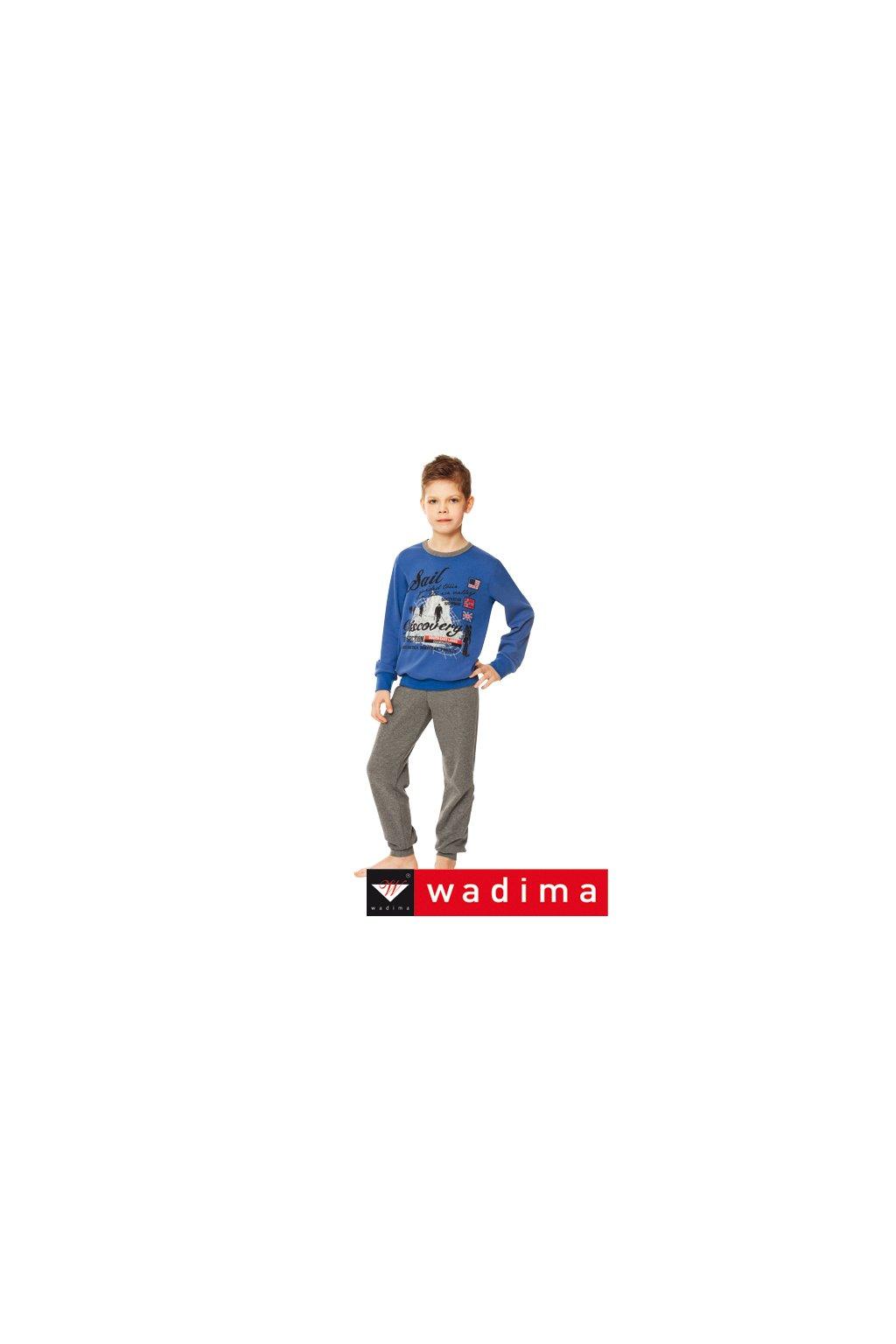 Chlapecké pyžamo, 50480 837, modrá/grafitová