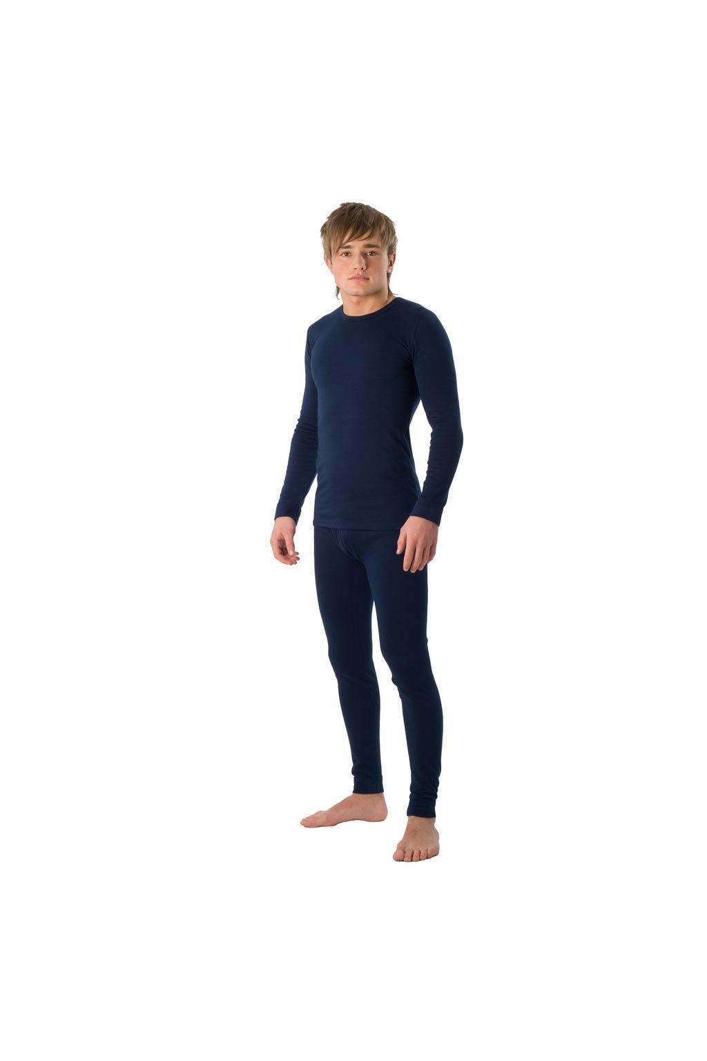 Chlapecké tričko s dlouhým rukávem YOUNG FASHION, 60202 28, modrá